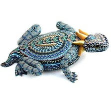 Horned Toad Mama Figurine | FimoCreations | FCfhtm