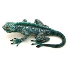 Iguana Jumbo Figurine | FimoCreations | FCFIJ