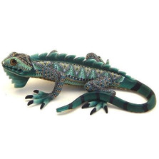 Iguana Papa Figurine | FimoCreations | FCFIP -2