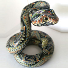 Rattlesnake Baby Figurine | FimoCreations | FCFRSB