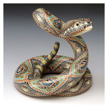 Rattlesnake Papa Figurine | FimoCreations | FCFRSP