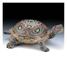 Turtle Jumbo Figurine   FimoCreations   FCftj
