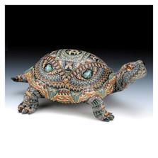 Turtle Papa Figurine   FimoCreations   FCftp