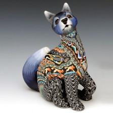 Wolf Mama Figurine | FimoCreations | FCFWMnew