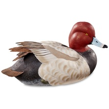 Redhead Duck Sculpture Swan Lake | Loon Lake Decoy | 6538511509