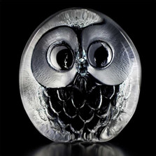 Owl Crystal Sculpture | 33269 | Mats Jonasson Maleras