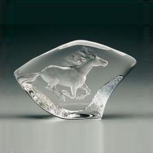 Horse Crystal Sculpture | 33715 | Mats Jonasson Maleras