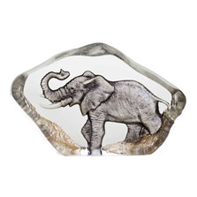 Elephant Mini Color Crystal Sculpture | 88174 | Mats Jonasson Maleras