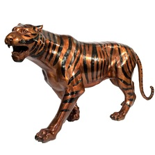 Tiger Bronze Outdoor Statue | Metropolitan Galleries | MGISRB15032
