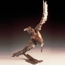 Eagle Dancer Native American Sculpture | Mark Hopkins | mhs11033