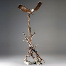 "Eagle Sculpture ""Open Sky"" 