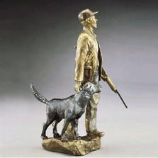 Hunters Bronze Sculpture | Mark Hopkins | mhs21013