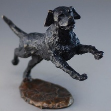 Labrador Bronze Sculpture | Mark Hopkins | MHS72051