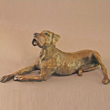 Dog Bronze Sculpture Great Dane II | Mark Hopkins | MHS72056