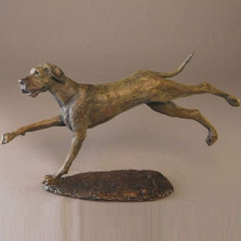 Dog Bronze Sculpture Great Dane | Mark Hopkins | MHS72057