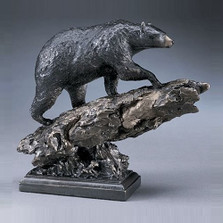 Black Bear Bronze Sculpture | Mark Hopkins | mhs81032