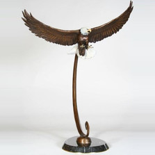 Eagle Bronze Sculpture | Scott Lennard | SLB15