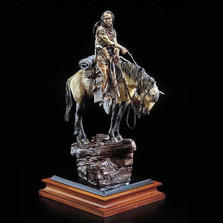 "Cowboy Sculpture ""Thirty and Found"" 