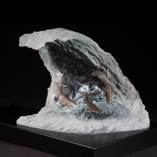 "Dolphin Sculpture ""Point Break"" 