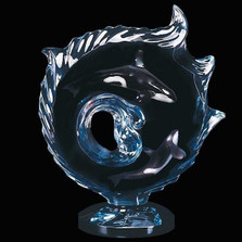 "Whale Sculpture Orca ""Encompassed"" 
