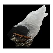 "Wolf Sculpture ""Hunter's Serenade"" | Starlite Originals | so3614"