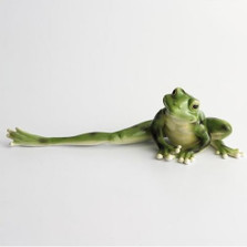 Frog Long Legged Figurine | Franz Porcelain