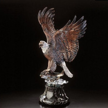 "Eagle Sculpture ""Over the Rainbow"" 