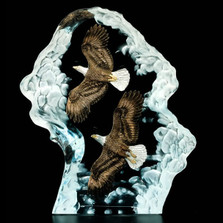 "Eagle Sculpture ""Achievement"" 