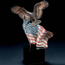"Eagle Sculpture ""Reaching Higher"" 