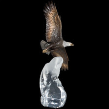 "Eagle Sculpture ""Cloud King"" 