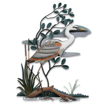 Heron in Mangrove Wall Sculpture | TI Design | W279X