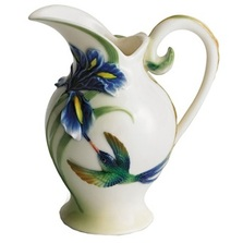Hummingbird Creamer | fz00133 | Franz Porcelain Collection -2
