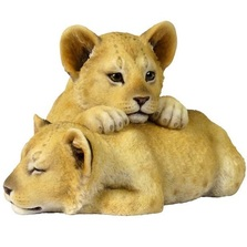 Lion Cubs Sculpture | Unicorn Studios | USIWU75435AA