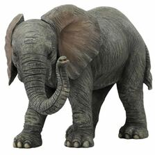 Gray Elephant Baby Sculpture | Unicorn Studios | USIWU76126AA
