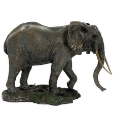 Elephant Trunk Down Sculpture | Unicorn Studios | wu74733a4