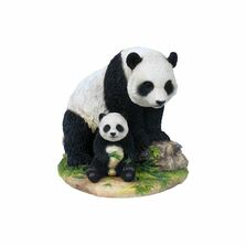 Panda and Baby Panda Sculpture 2 | Unicorn Studios | wu74836va