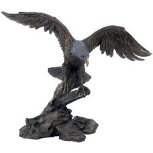 Eagle Spreading Wings Sculpture | Unicorn Studios | wu74848a4