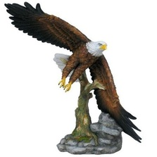 Flying Eagle 2 Sculpture | Unicorn Studios | wu74890aa