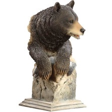 "Black Bear Sculpture ""Handful"" 