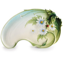 Ladybug Tray | fz00402 | Franz Porcelain Collection