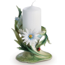 Ladybug Candle Holder | fz00444 | Franz Porcelain Collection -2