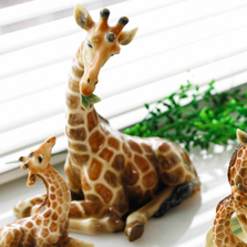 Giraffe Mother Figurine | Franz Porcelain | FS00478