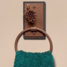 Pinecone Towel Ring | Colorado Dallas | CDTR01