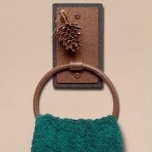 Pinecone Towel Ring | Colorado Dallas | CDTR01