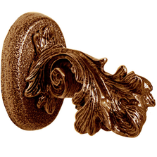 Acanthus Leaf Towel Hook | Functional Fine Art | ffa01551ab