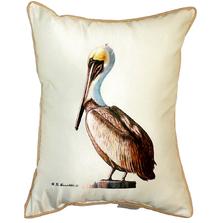 Pelican Indoor Outdoor Pillow 20x24 | Betsy Drake | BDZP035