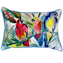Parrot Family Indoor Outdoor Pillow 20x24 | Betsy Drake | ZP217