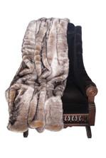Golden Chinchilla Throw Blanket