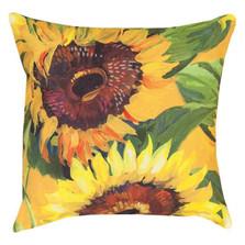 Sunflower Indoor/Outdoor Pillow | Manual Woodworkers | SLSNFL-2