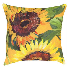 Sunflower Indoor/Outdoor Pillow | Manual Woodworkers | SLSNFL-2